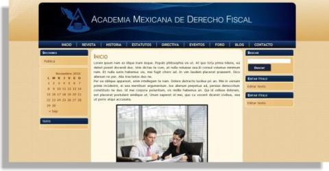 academia mexicana de derecho fiscal