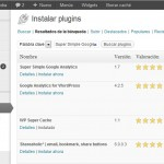 "En wordpress instala ""super simple google analytics"""