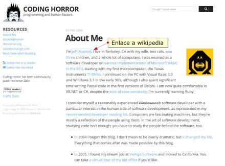 Acerca de mí - Coding horror