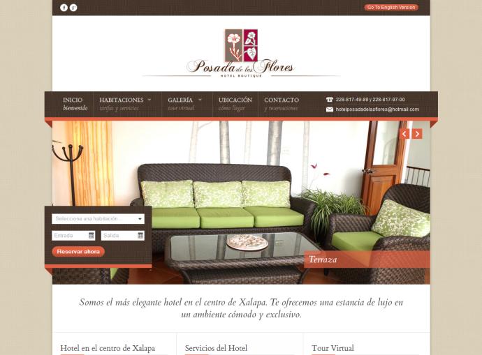 Hoteles en Xalapa - Hotel Posada de las Flores